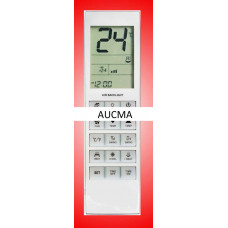 Vervangende afstandsbediening voor de airco's van Aucma
