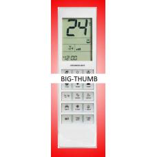 Vervangende afstandsbediening voor de airco's van Big-Thumb