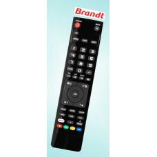 Vervangende afstandsbediening voor de Brandt 10 360 T