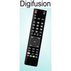 Vervangende afstandsbediening voor de Digifusion D26WLZ53HID