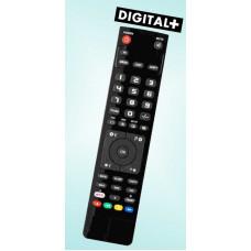 Vervangende afstandsbediening voor de Digital-plus 7000 A
