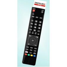 Vervangende afstandsbediening voor de Digitalbox IMPERIAL DB2 BASIC(ver.2)
