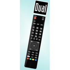 Vervangende afstandsbediening voor de Dual 1910D-DVB-T