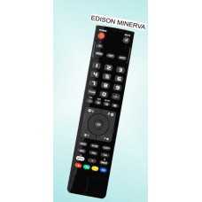 Vervangende afstandsbediening voor de Edison Minerva EM 2825
