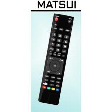 Vervangende afstandsbediening voor de Matsui 14 TI20