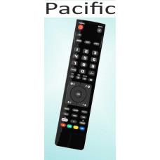 Vervangende afstandsbediening voor de Pacific DVD 1000
