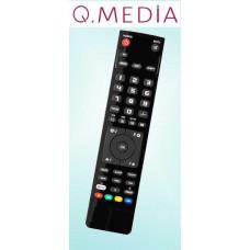 Vervangende afstandsbediening voor de Qmedia Q26A5