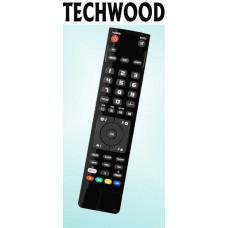 Vervangende afstandsbediening voor de Techwood 16822 DVD HD DIGITAL