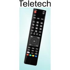Vervangende afstandsbediening voor de Teletech 20715